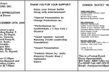 Sponsor Appreciation Flyer